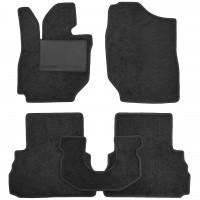 Коврики в салон для Suzuki Jimny '19-, текстильные, черные (Optimal)