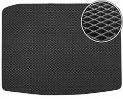 Коврик в багажник для Seat Ateca '17-, без органайзера, EVA-полимерный, черный (Kinetic)