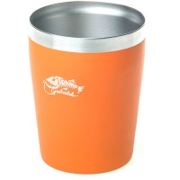 Термостакан Tramp металлический оранжевый, 250 мл