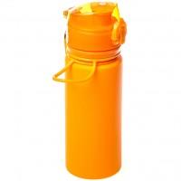 Бутылка Tramp силиконовая оранжевая, 500 мл