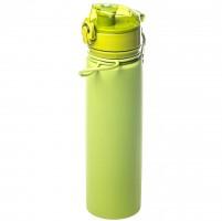 Бутылка Tramp силиконовая оливковая, 700 мл