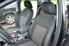 Авточехлы Premium для салона Ford Kuga '08-13 серая строчка (MW Brothers)