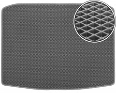 Коврик в багажник для Seat Ateca '17-, без органайзера, EVA-полимерный, серый (Kinetic)