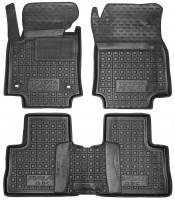 Коврики в салон для Toyota RAV4 2019-, MКПП, резиновые, черные (AVTO-Gumm)