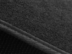 Фото 7 - Коврики в салон для Fiat 500 '08- USA, текстильные, черные (Стандарт)