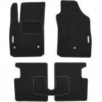 Textile-Pro Коврики в салон для Fiat 500 '08- USA, текстильные, черные (Стандарт)