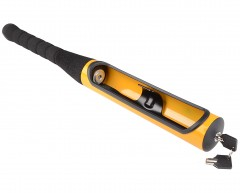 Автоблокиратор руля в виде бейсбольной биты (желтый)