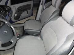 Авточехлы Premium для салона Renault Clio Symbol '01-12 серая строчка (MW Brothers)