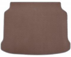 Kinetic Коврик в багажник для Mazda 3 '19-, хетчбэк, EVA-полимерный, коричневый с серой тесьмой (Kinetic)
