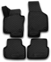 Коврики в салон 3D для Volkswagen Jetta VI '10- полиуретановые (Novline / Element)