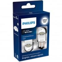 Автомобильные лампы Philips X-tremeUltinon LED T20 (WX3x16d) W21/5W (2 шт.) 11066XUWX2