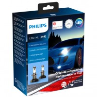 Автомобильные лампочки Philips X-tremeUltinon LED-HL H4 (P43T) 5800К (2 шт.) 11342XUWX2