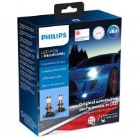 Автомобильные лампочки Philips X-tremeUltinon LED-FOG H8 (PGJ19-1) 5800К (2 шт.) 11366XUWX2