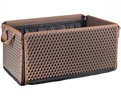Органайзер-трансформер в багажник EVA-полимерный, коричневый (Kinetic)