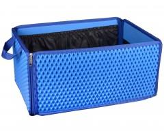Органайзер-трансформер в багажник EVA-полимерный, синий (Kinetic)