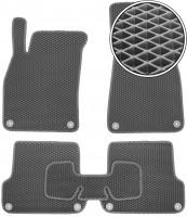 Kinetic Коврики в салон для Audi A4 '00-05, EVA-полимерные, серые (Kinetic)
