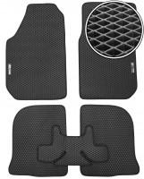 Kinetic Коврики в салон для Audi 100 /A6 '91-97, EVA-полимерные, черные + 2 шильдика (Kinetic)