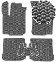Коврики в салон для Skoda Octavia '97-09, EVA-полимерные, серые (Kinetic)