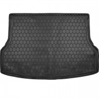 Коврик в багажник для Opel Zafira B '05-13 (7 мест) резино-пластиковый (AVTO-Gumm)