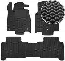 Kinetic Коврики в салон для Acura MDX '06-13, EVA-полимерные, черные с подпятником (Kinetic)