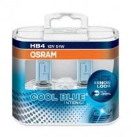 Автомобильная лампочка Osram Cool Blue Intense HB4 12V (комплект: 2 шт)