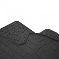 Фото товара 2 - Коврики передние в салон для Jeep Wrangler '07-16 резиновые, черные (Stingray)