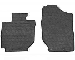 Коврики передние в салон для Suzuki Jimny '19-, резиновые, черные (Stingray)