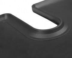 Фото 3 - Коврик в багажник для Mitsubishi Outlander '12- (без органайзера), резиновый (Stingray)