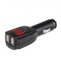 Универсальное автомобильное зарядное устройство Dual USB 12/24 В (Alca)