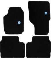 Коврики в салон для Volkswagen Amarok '10- текстильные, черные (VAG-Group)
