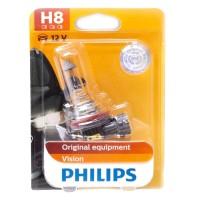 Автомобильная лампочка Philips Vision H8 12V 35W в блистере