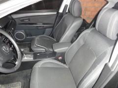 Авточехлы Premium для салона Mazda 3 '09-13 красная строчка (MW Brothers)
