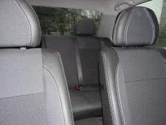 Авточехлы Premium для салона Mitsubishi Lancer 9 '04-09 красная строчка (MW Brothers)
