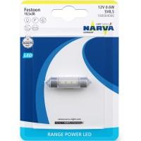 Фото 1 - Автомобильная лампочка Narva Range Power LED 18006.1B C5W 12 V 0.6W