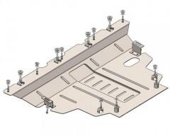 Защита двигателя и КПП для Jeep Renegade '16-, V-2,0D; 2,4і, АКПП 4х4 (Кольчуга)