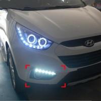 Дневные ходовые огни для Hyundai ix-35 '10-15 (DRL)