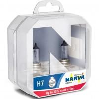 Автомобильная лампочка Narva 48339.2BOX 12V H7 55W (Комплект: 2шт.)