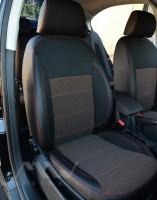 Фото 2 - Авточехлы Premium для салона Skoda Octavia A5 '05-13 красная строчка, Ambiente/Elegance (MW Brothers)
