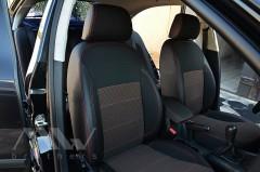 Фото 3 - Авточехлы Premium для салона Skoda Octavia A5 '05-13 красная строчка, Ambiente/Elegance (MW Brothers)