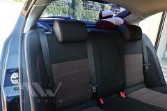 Фото 6 - Авточехлы Premium для салона Skoda Octavia A5 '05-13 красная строчка, Ambiente/Elegance (MW Brothers)