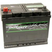 Автомобильный аккумулятор GigaWatt (0185755200) 52Ач