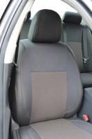 Авточехлы Premium для салона Toyota Corolla '07-12 красная строчка (MW Brothers)