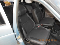 Авточехлы Premium для салона Lada (Ваз) 2110 красная строчка (MW Brothers)
