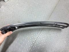 Фото 2 - УЦЕНКА! Решетка бампера для Volkswagen Passat B7 '10-14 правая, черная с хром. молдингом (FPS)