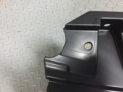 Фото 2 - УЦЕНКА! Решетка радиатора для Mitsubishi Pajero Wagon 4 '07- хром/черн. (FPS)