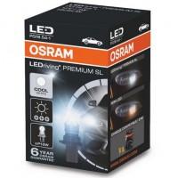 Автомобильная лампочка Osram LEDriving Premium Cool White P13W, PG18.5d-1, 3W 12V (1шт.)