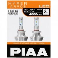 Автомобильные светодиодные лампочки PIAA HyperArros 4000K H4 LEH131E (2шт)