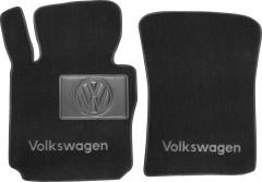 Коврики в салон для Volkswagen Caddy '04-15 текстильные, черные (Люкс) передние