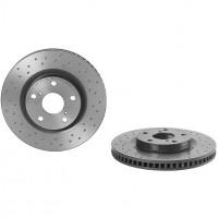 Комплект тормозных дисков BREMBO XTRA 09.A417.1X (2шт.)