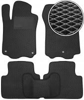 Kinetic Коврики в салон для Acura TLX '14-, EVA-полимерные, черные с подпятником (Kinetic)